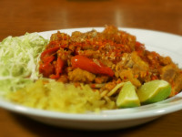 Kanum Jean Nam Ngiaw – Northern Thai Style Noodles with Spicy Pork Rib Curry